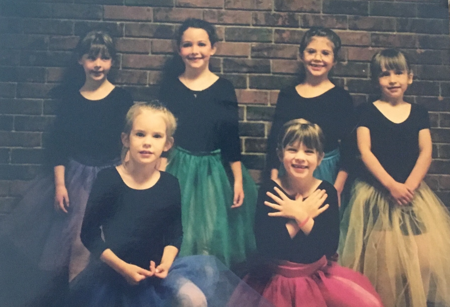 I'm the one in the hot pink tutu, with the gummy smile and the dramatic and unnecessary hands. Yeah, I liked ballet.