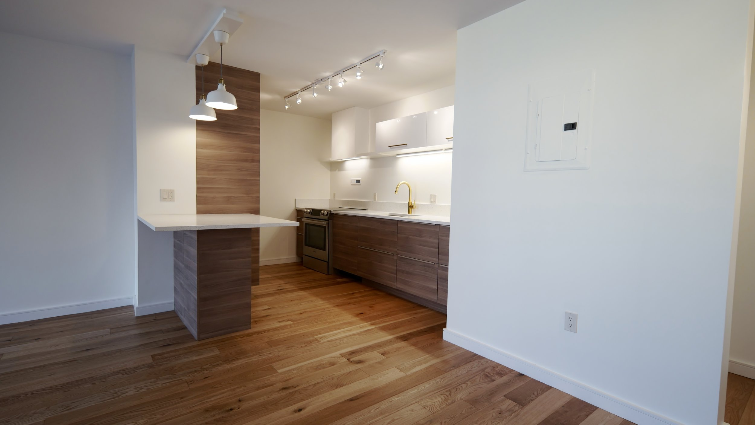 ON THE MARKET FOR SALE  50 Longwood Ave Unit 319 Brookline, MA 02446  Full Amenity Building in Coolidge Corner. Concierge, Pool, Gym.  Renovated 1 Bed/1 Bath Condo with 1 Underground Deeded Parking Spot.    Listing Price: $649,000