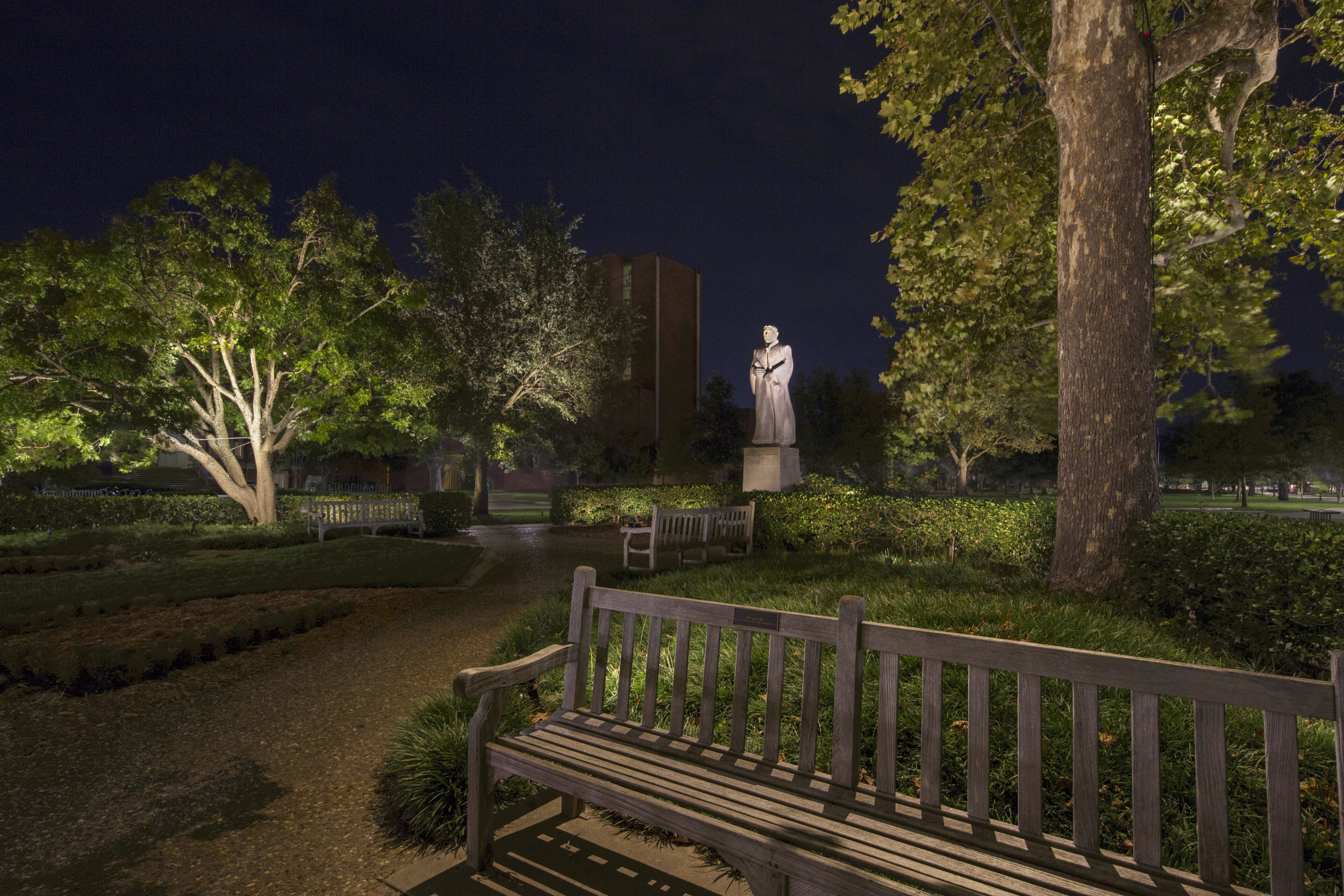 Bizzell Statue Garden, University of Oklahoma, Intensive Course 2018