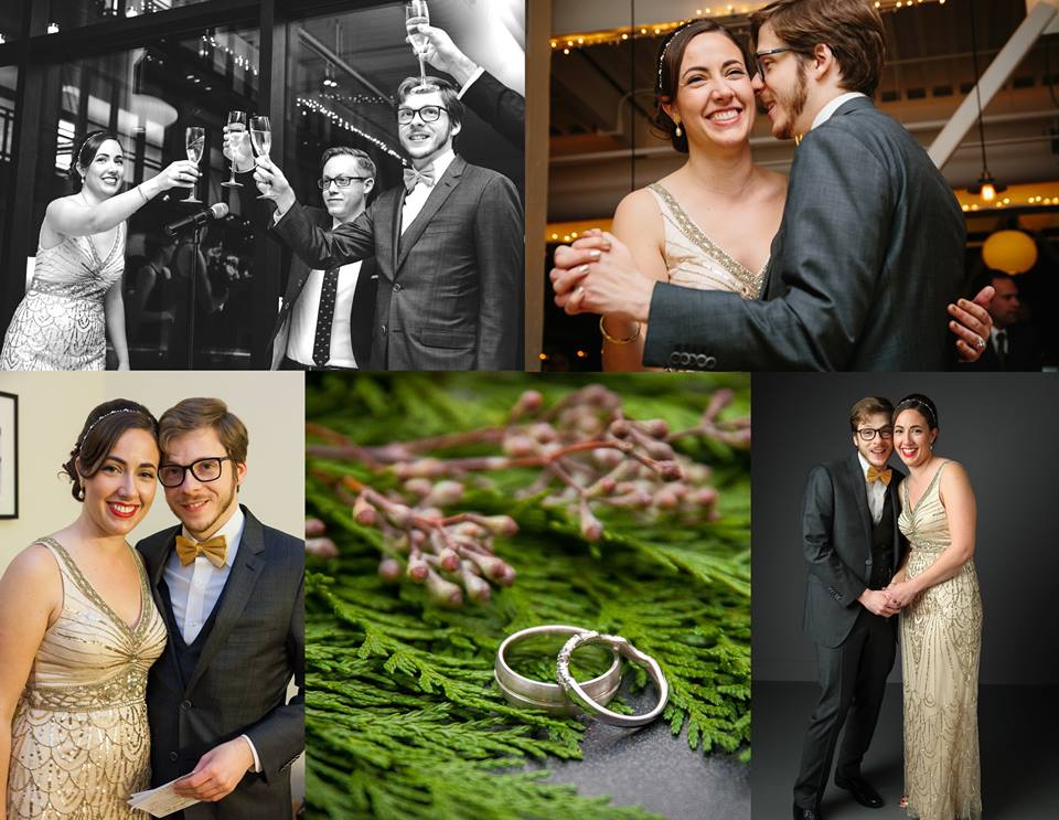 liz and scott's wedding at GHL