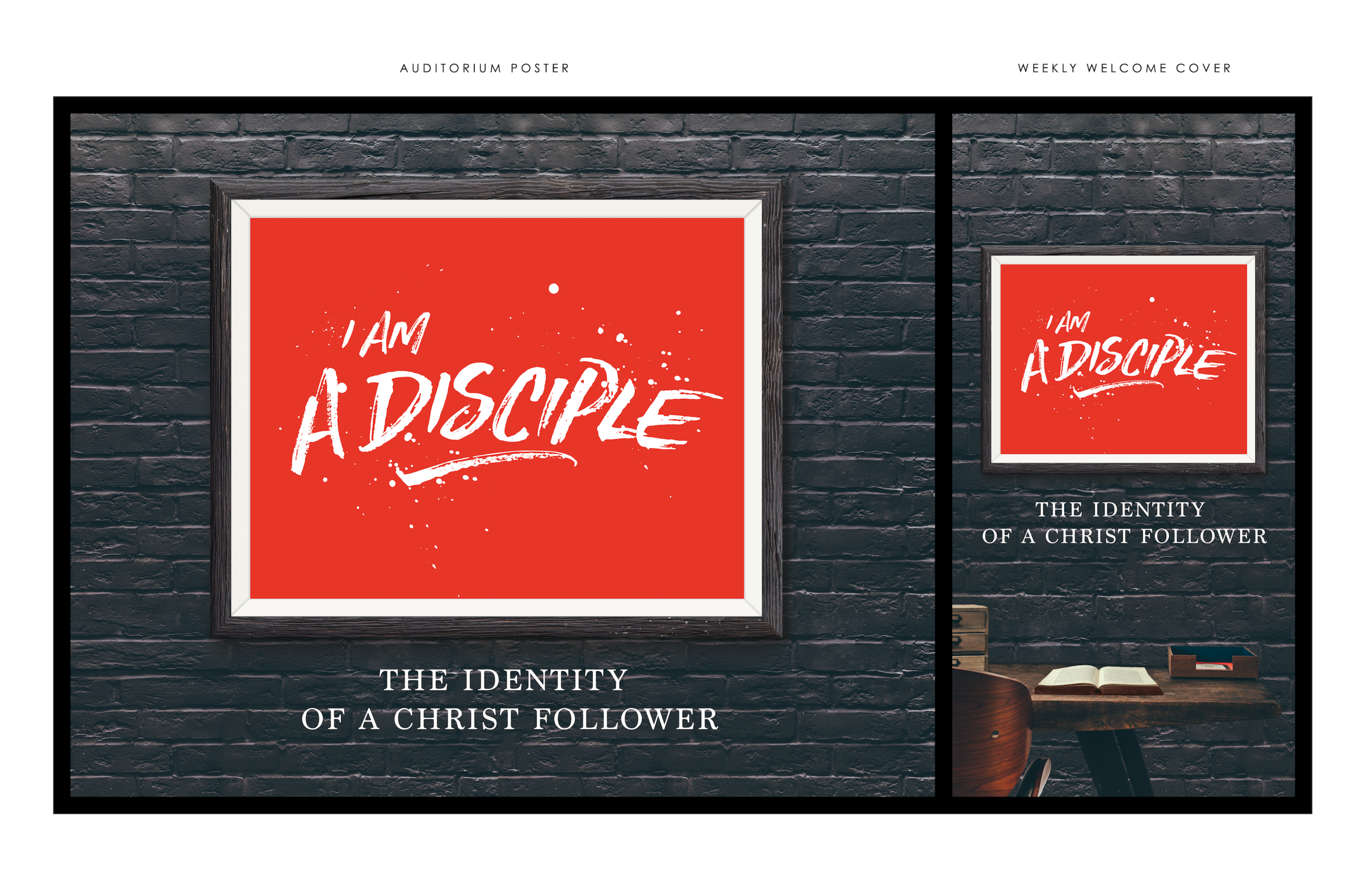Cover art mockup created for a series at church