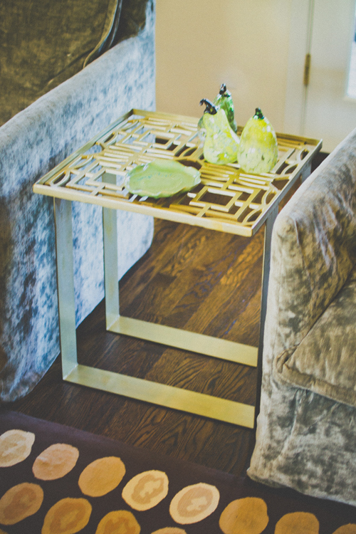 Web Top End Table