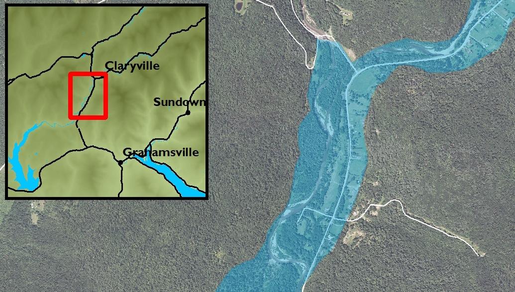 Local Flood Hazard Mitigation Analysis: Hydraulic Model for Upper Neversink River, Claryville & Denning