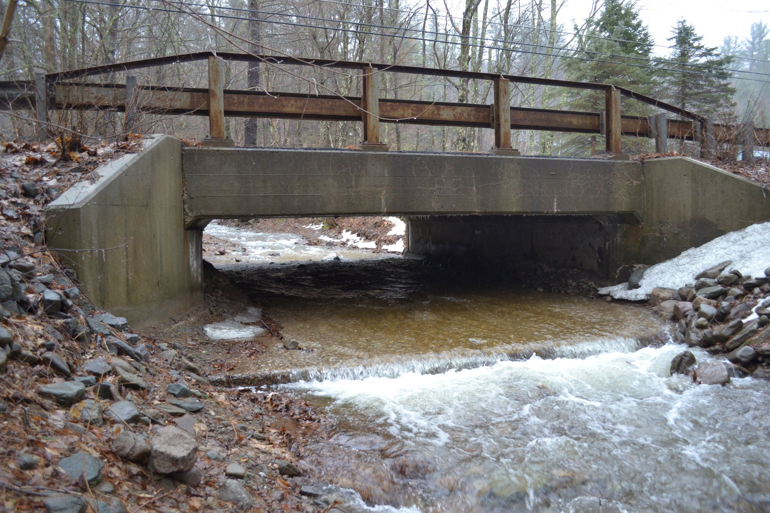 Bungalow Brook Channel Resizing at County Road 19, Claryville