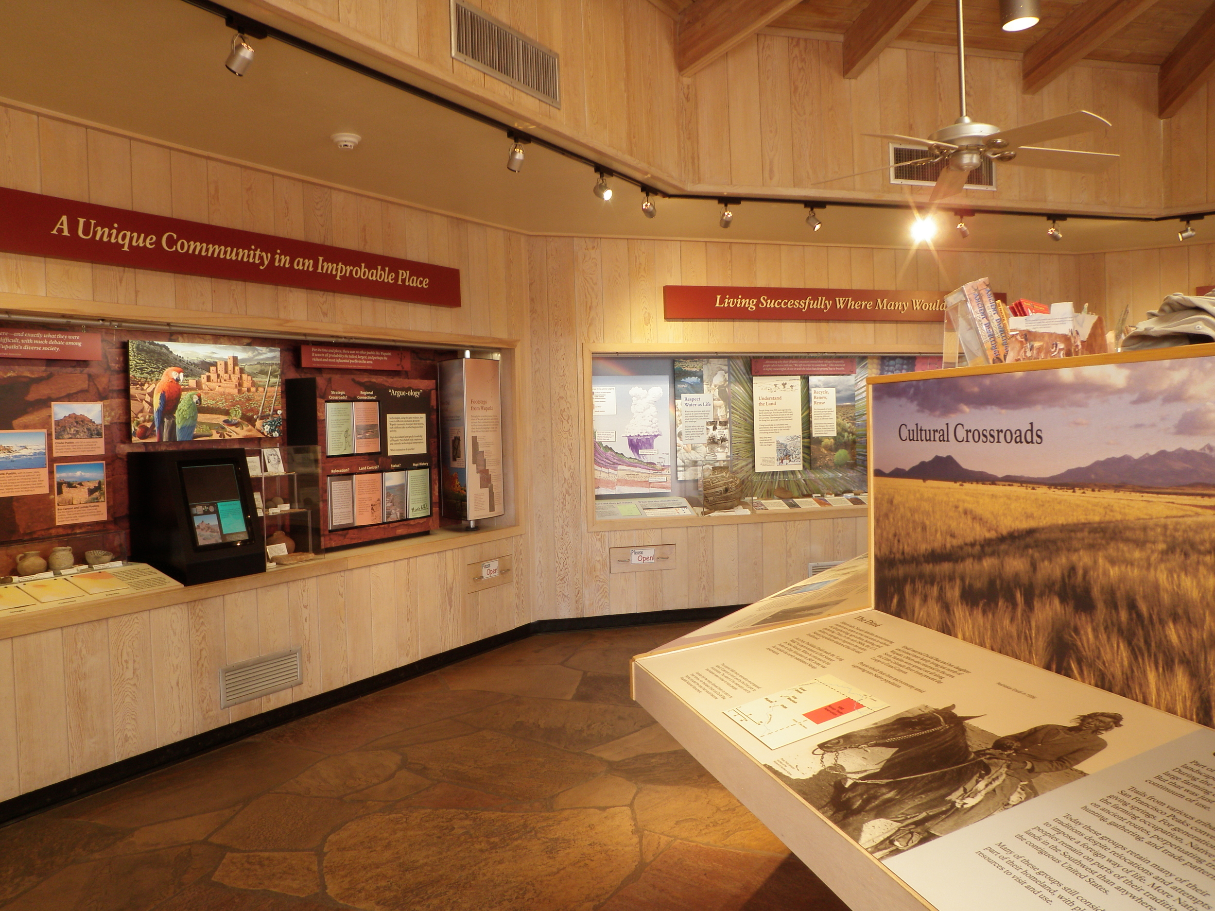 The Visitor Center at Wupatki National Monument