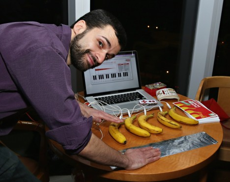 Once you've made a piano with bananas, everything else is just downhill.