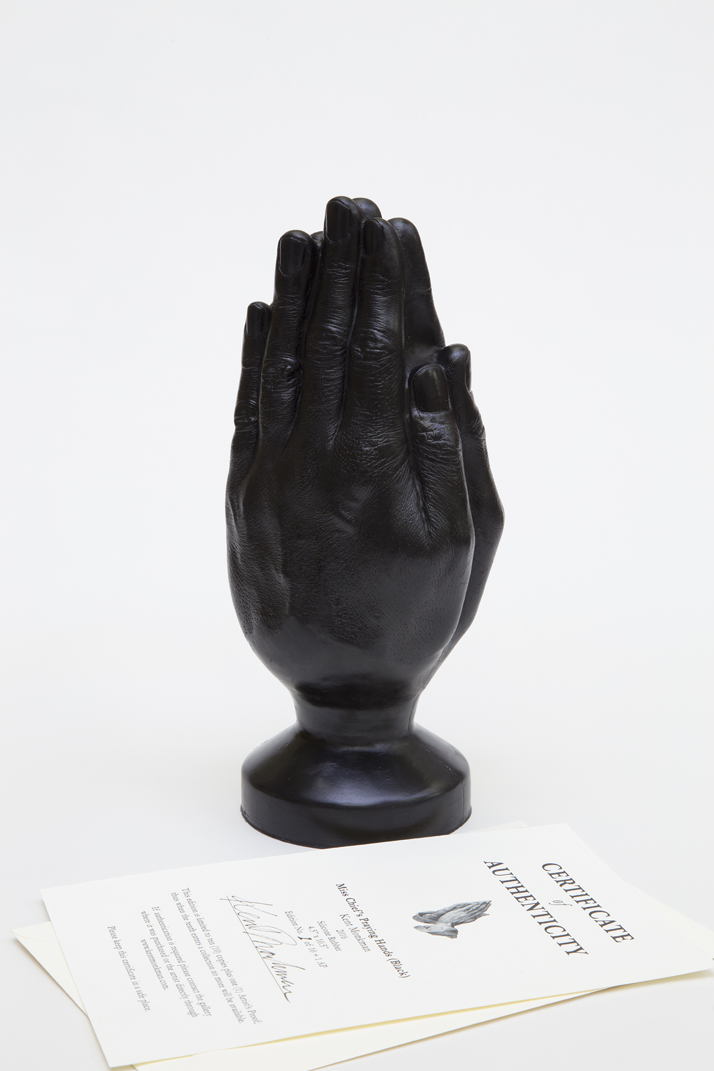 Miss Chief's Praying Hands (Black)