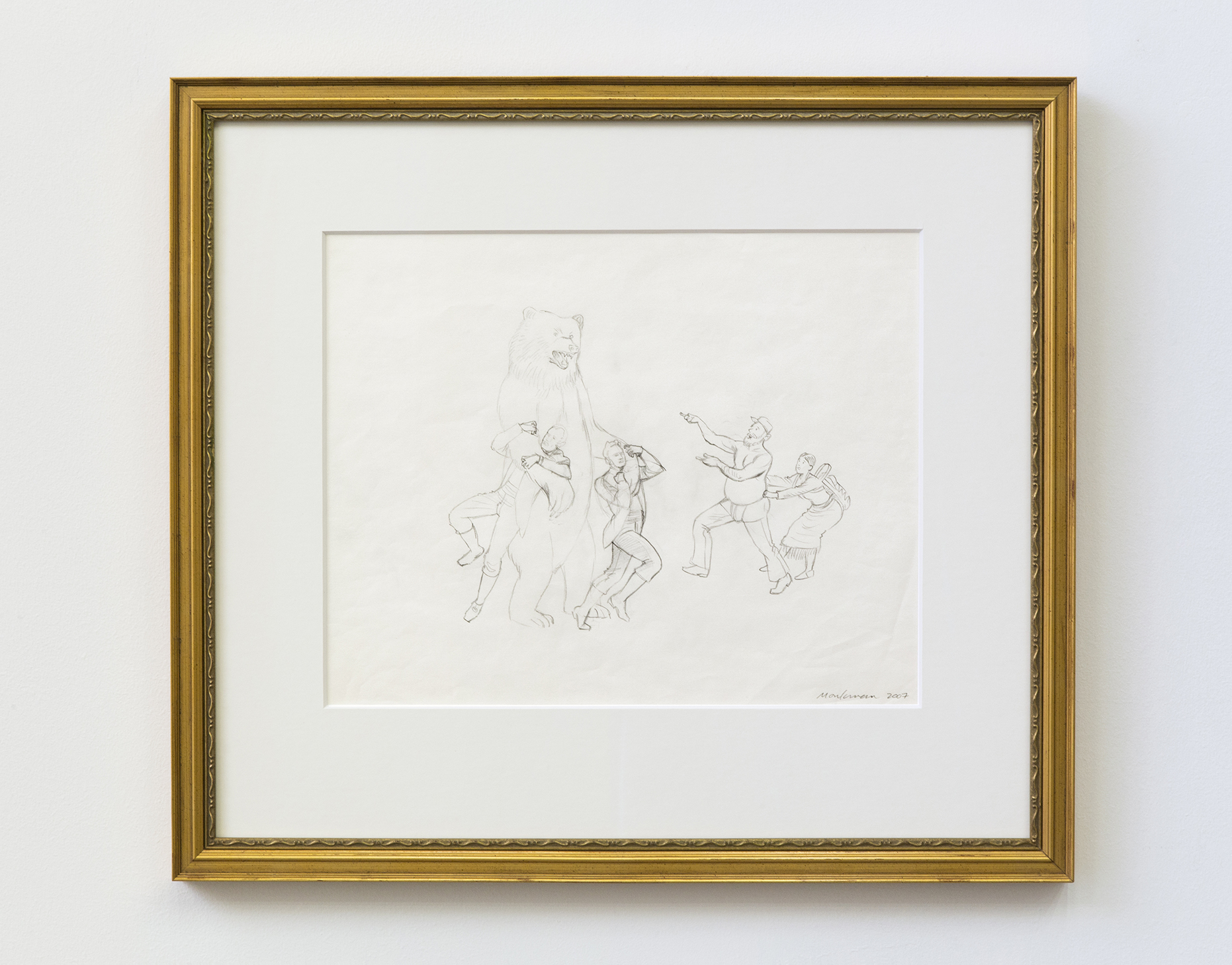 Study for The Triumph of Mischief (Lewis and Clark)