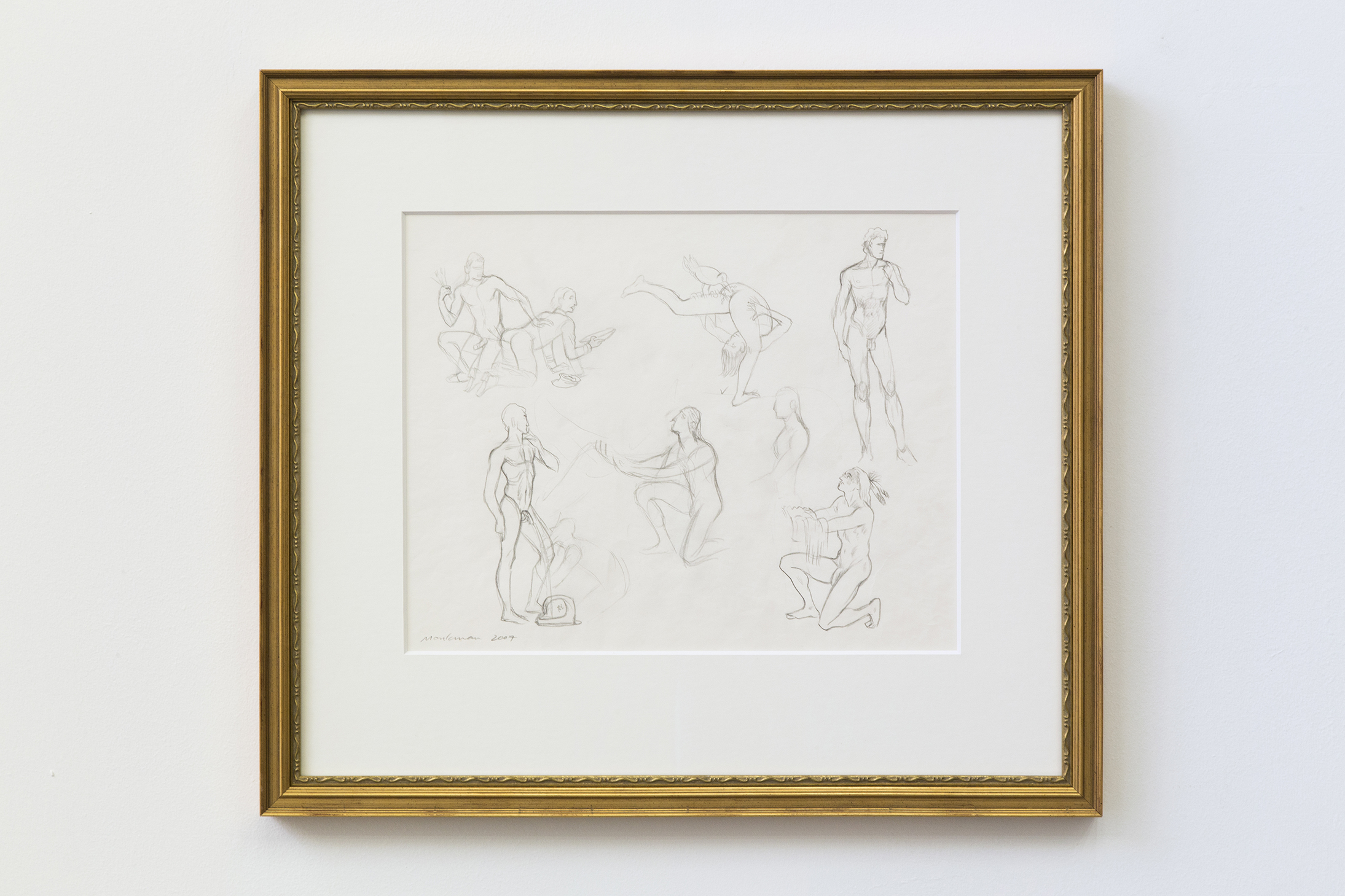 Study for The Triumph of Mischief (Anal Beads)