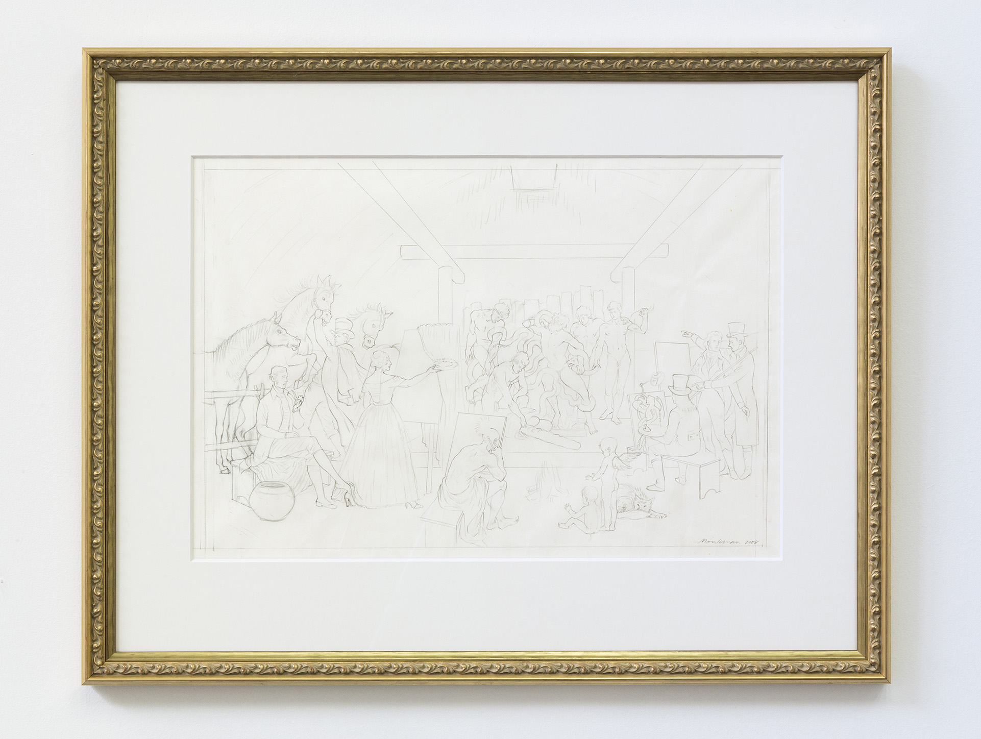Pencil Study for The Academy