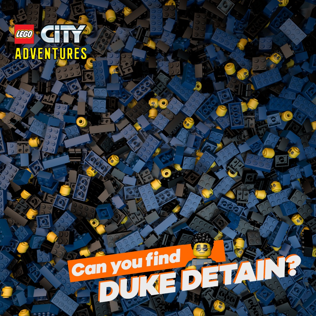 LEGO CITY ADVENTURES - FIND DUKE