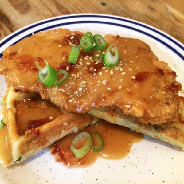 Mar 2016: Pork N' Waffles