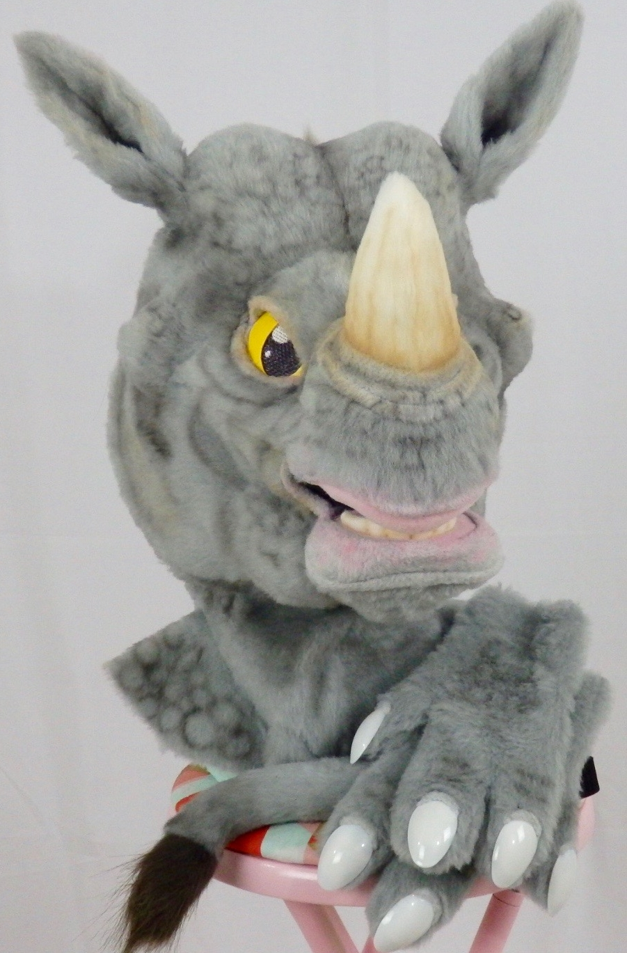 This Rhino partial was donated to Anthrocon's 2017 Charity Auction to benefit Hope Haven.