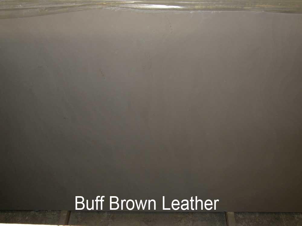 BUFF BROWN LEATHER