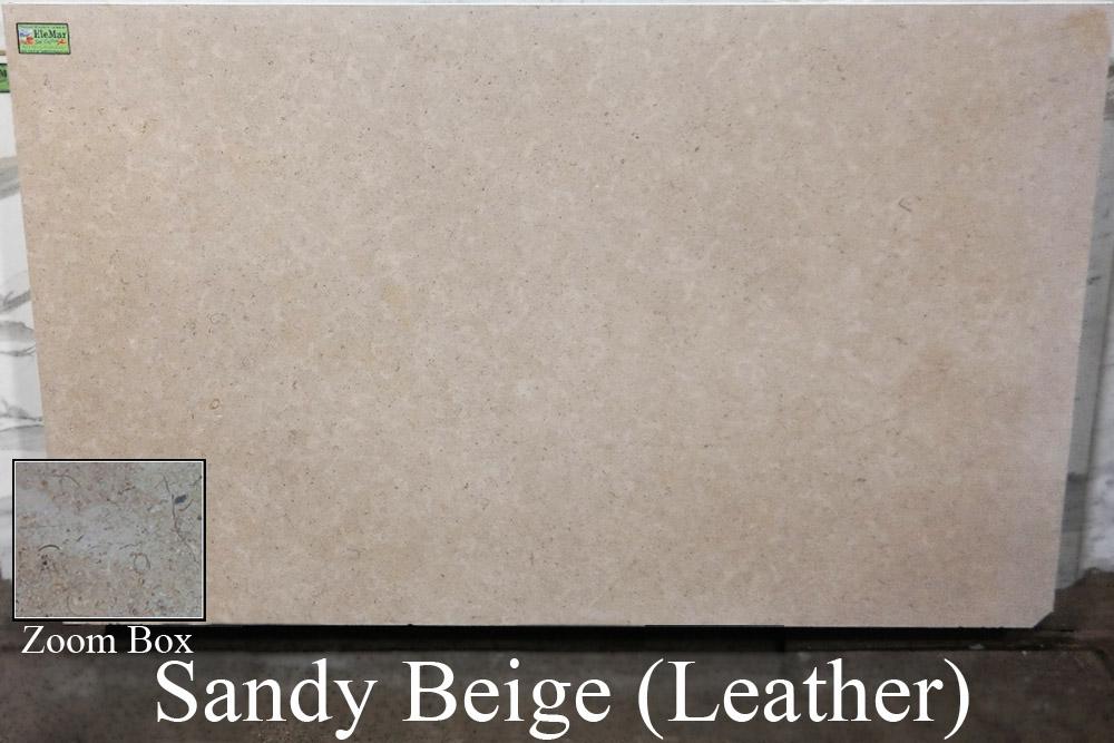 Sandy Beige Leather
