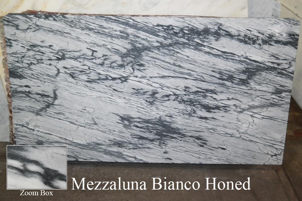 MEZZALUNA BIANCO HONED