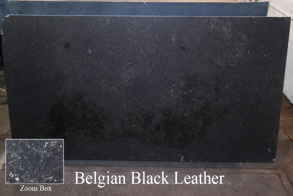 BELGIAN BLACK LEATHER