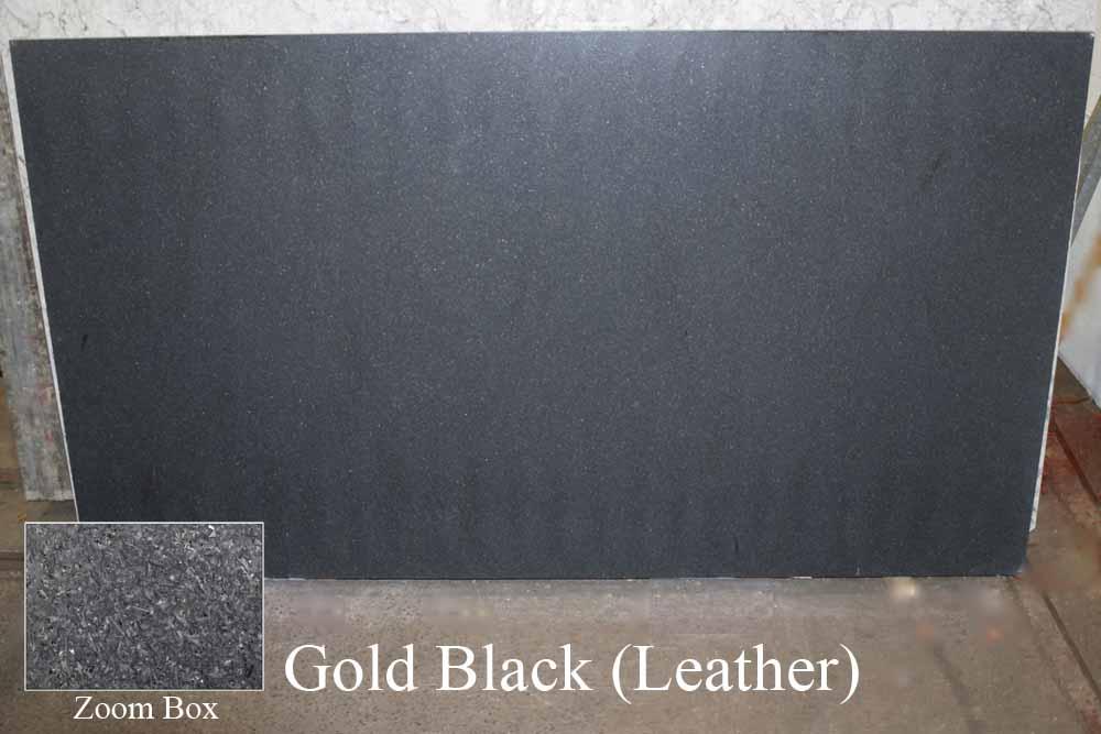 GOLD BLACK (LEATHER)