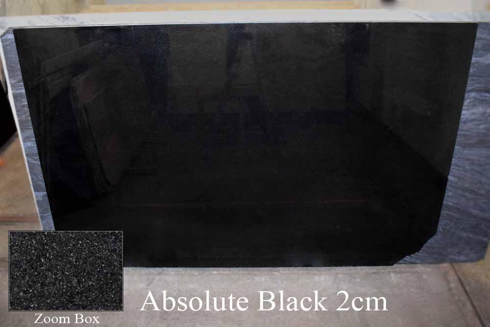 ABSOLUTE BLACK 2CM