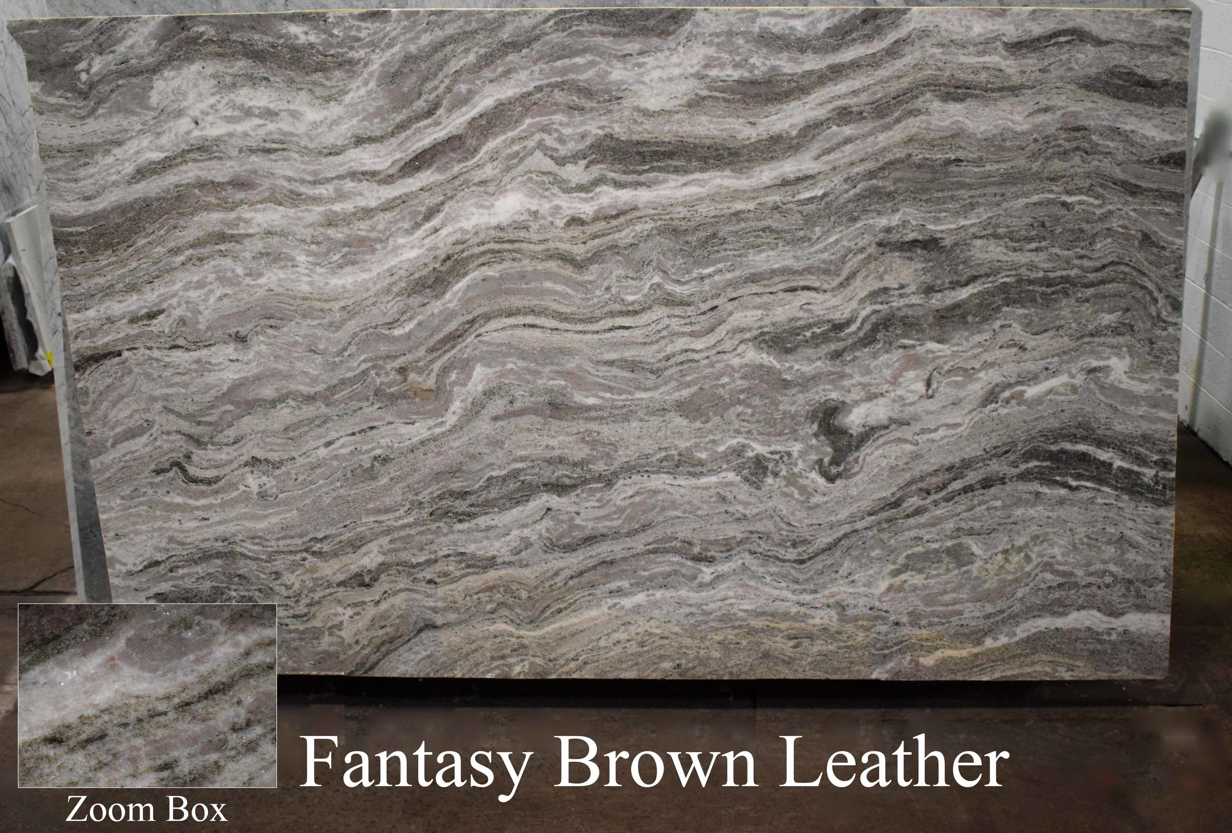 FANTASY BROWN LEATHER