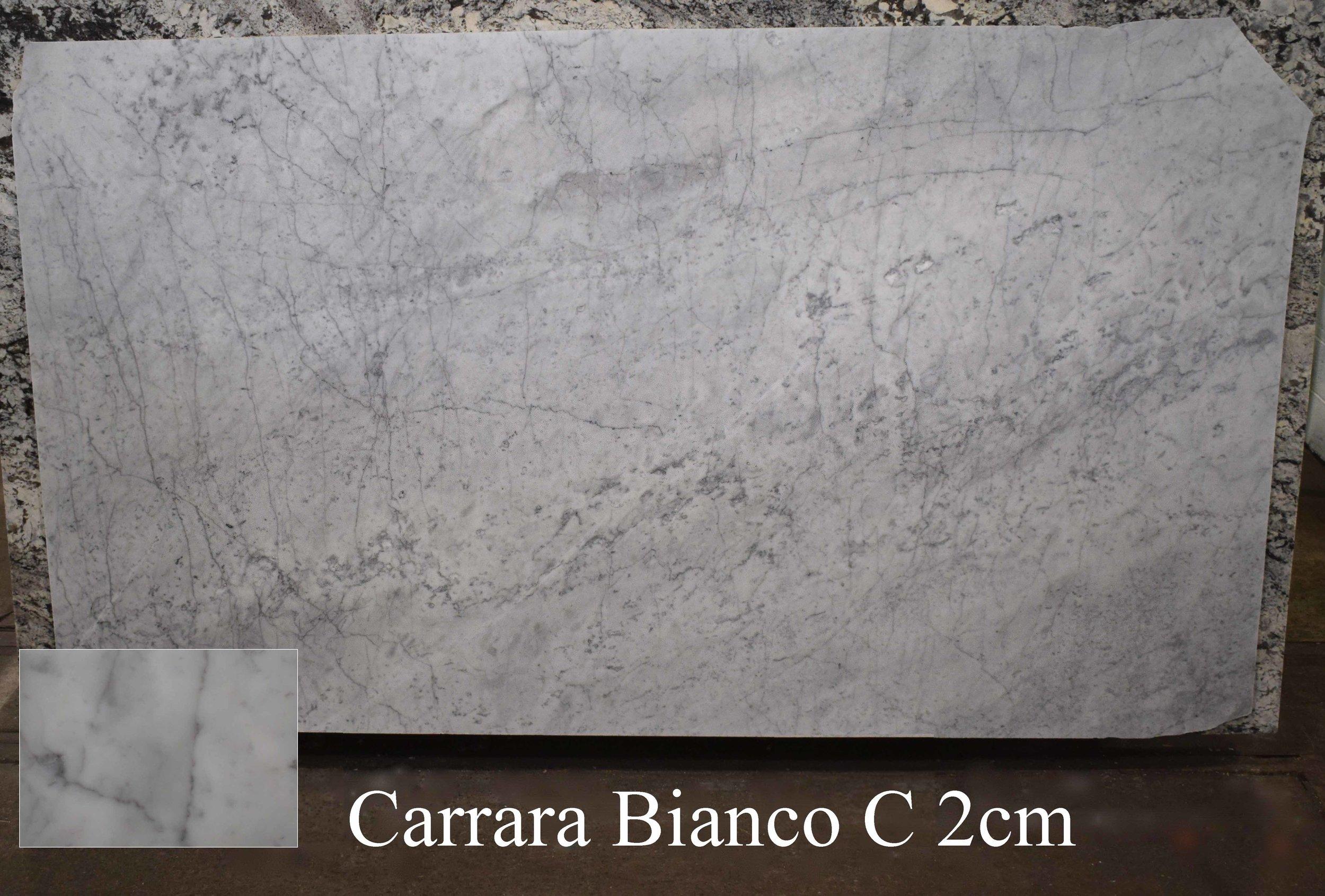 CARRARA BIANCO C 2cm
