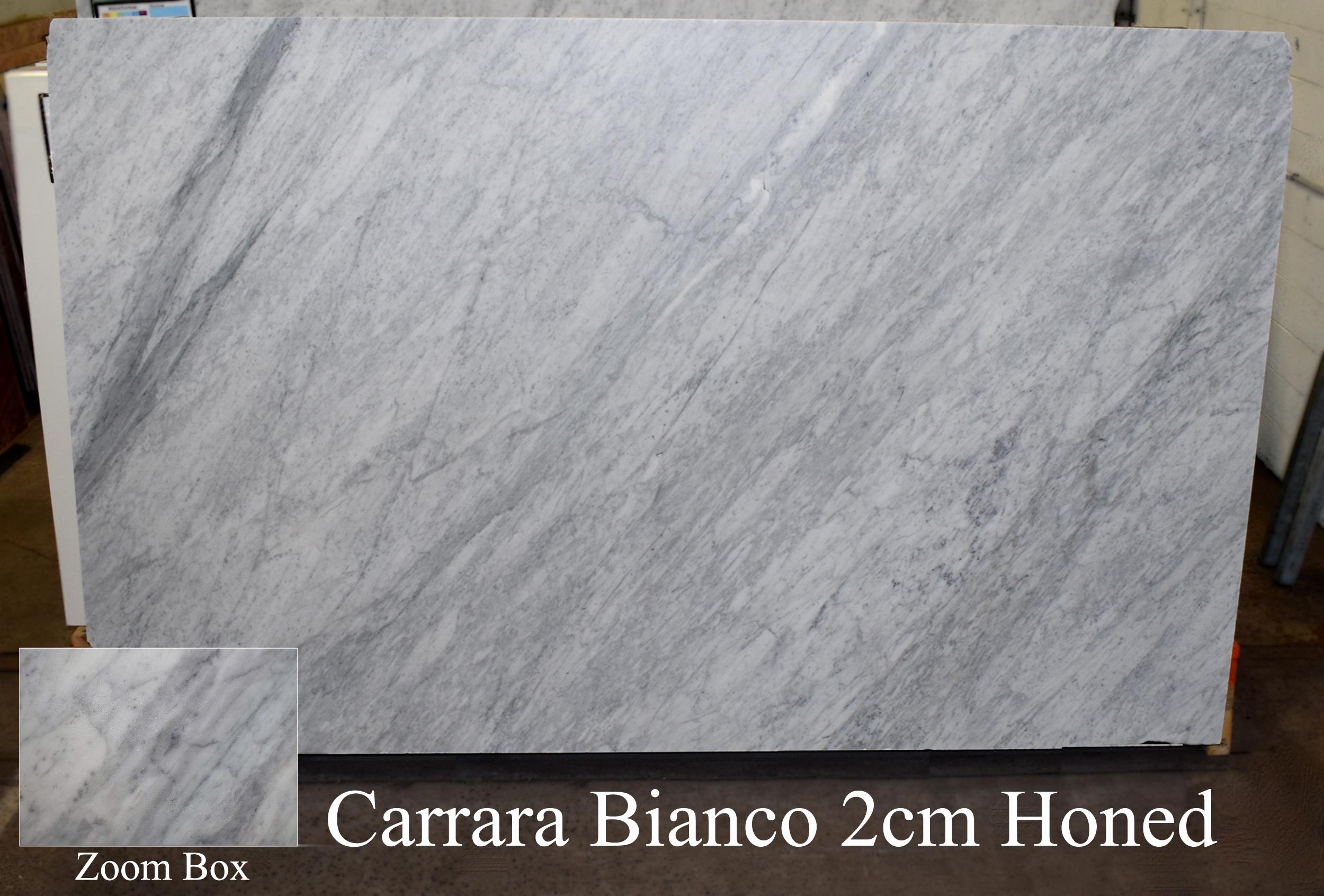 CARRARA BIANCO 2CM HONED