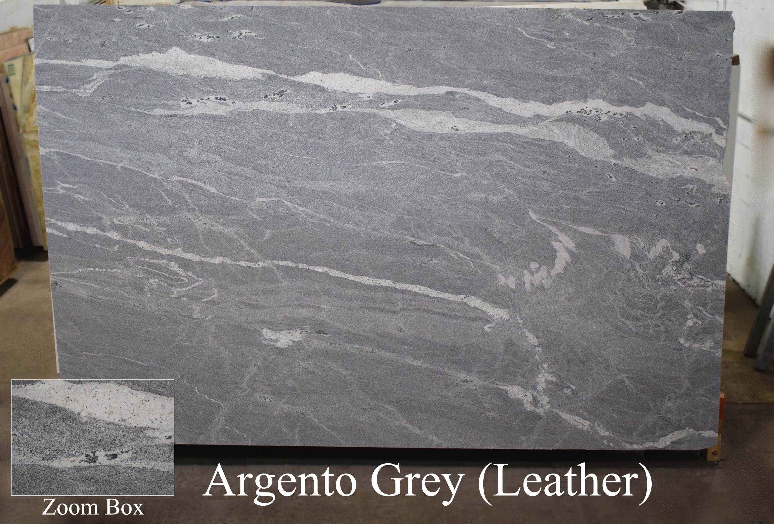 ARGENTO GREY (LEATHER)