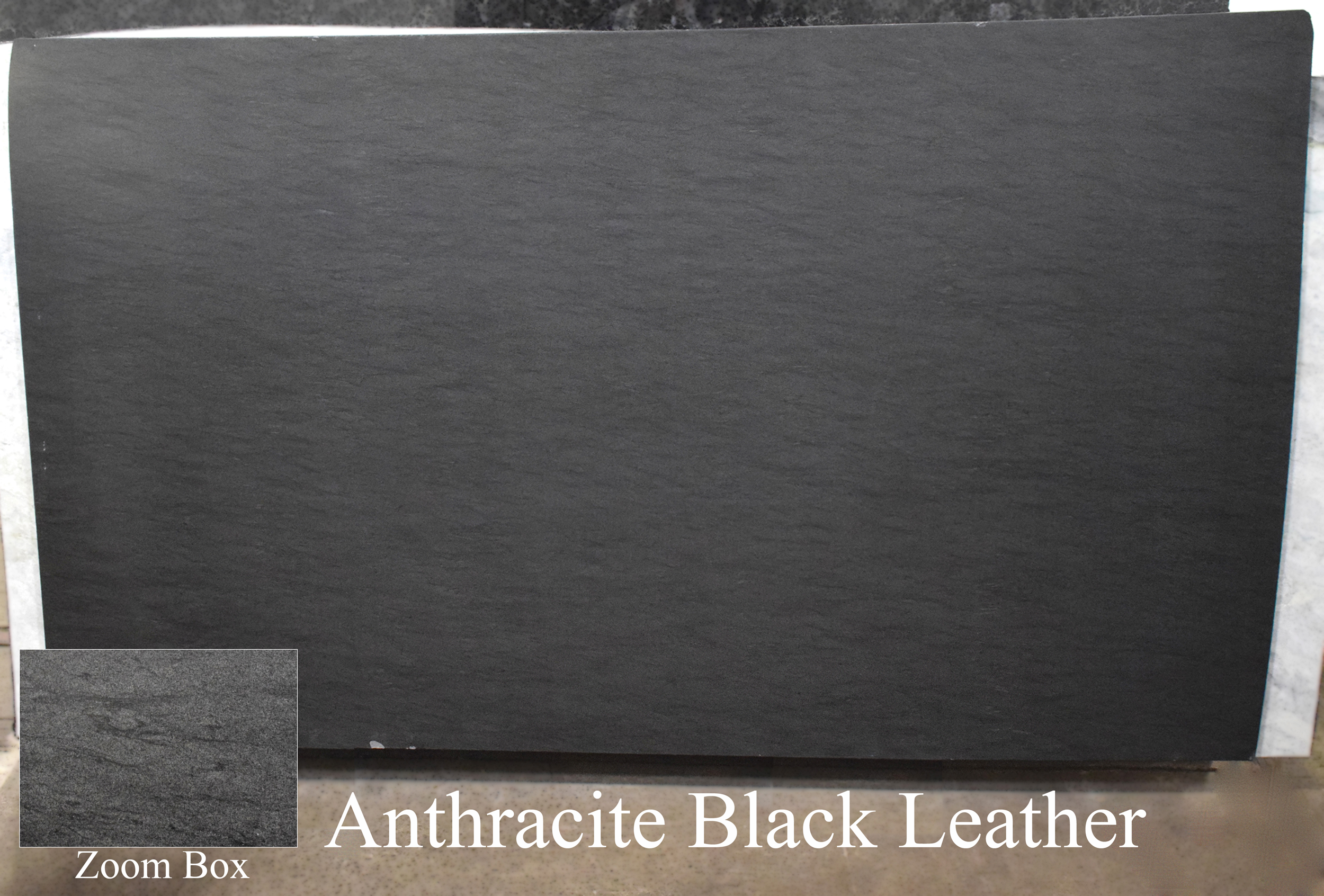 ANTHRACITE BLACK LEATHER