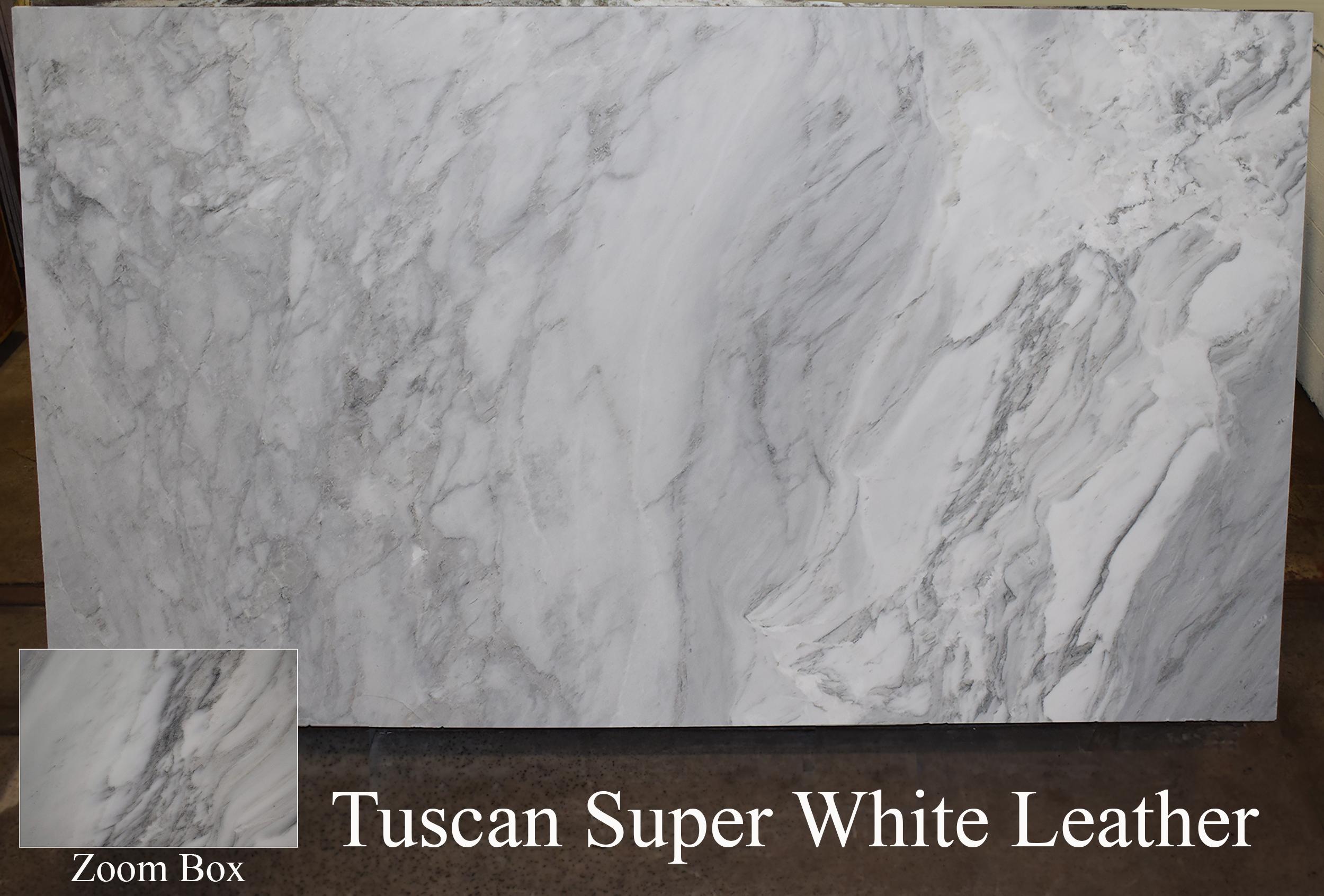TUSCAN SUPER WHITE LEATHER