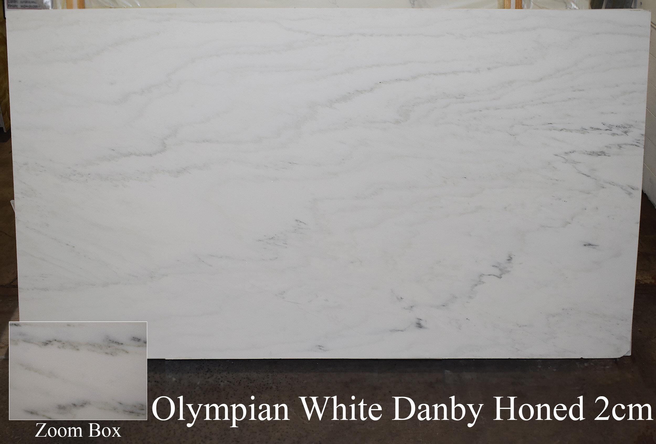 OLYMPIAN WHITE DANBY HONED 2CM