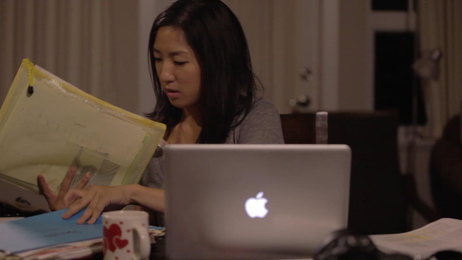 Josie Does Paperwork.jpg