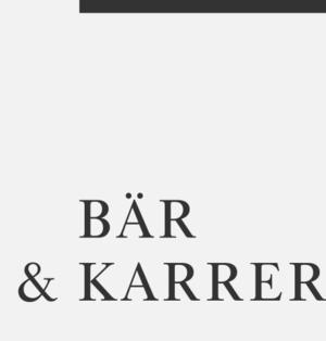 Bär & Karrer Logo