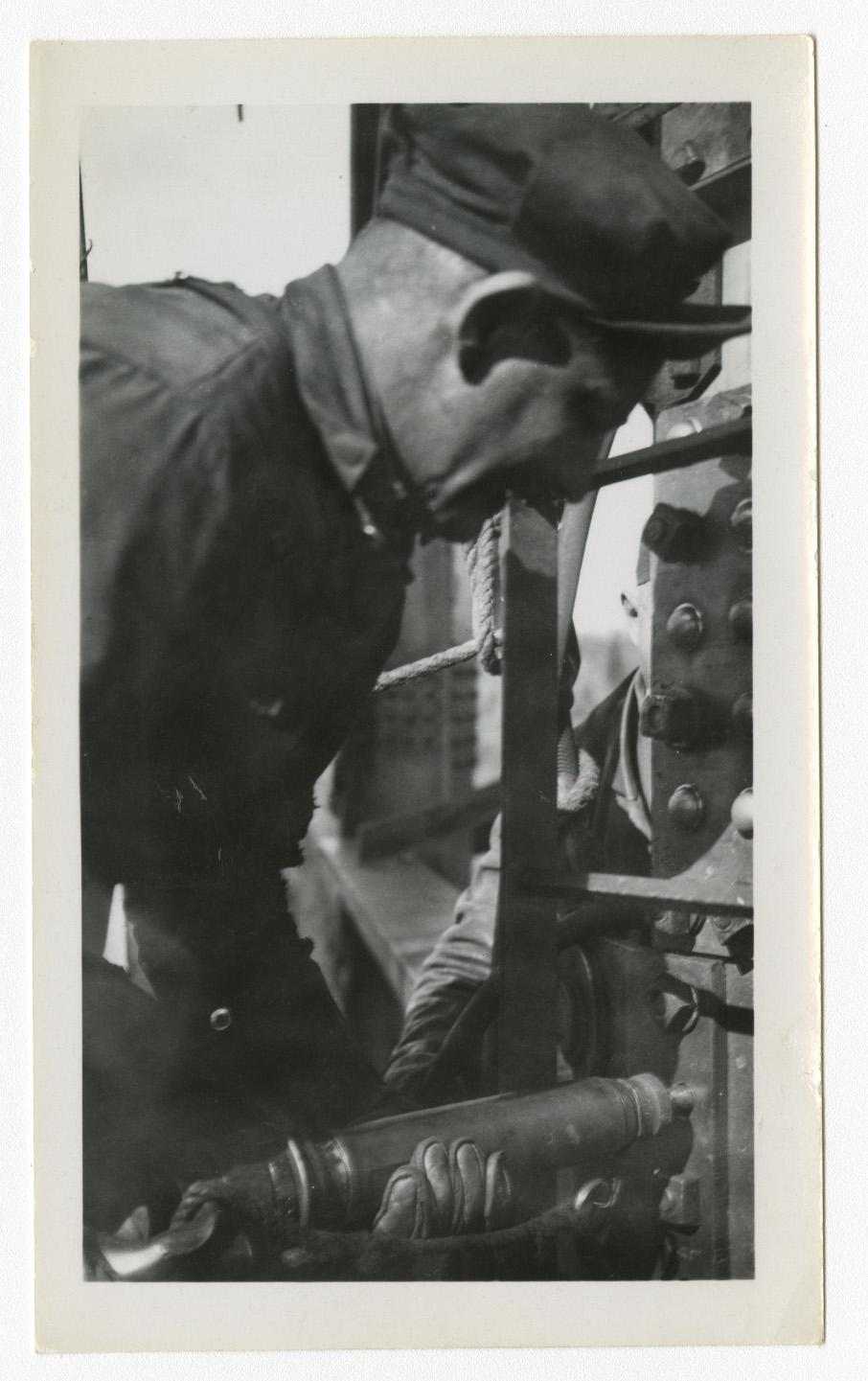 Boilermaker William Charun Riveting