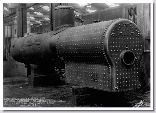 Locomotive Boiler