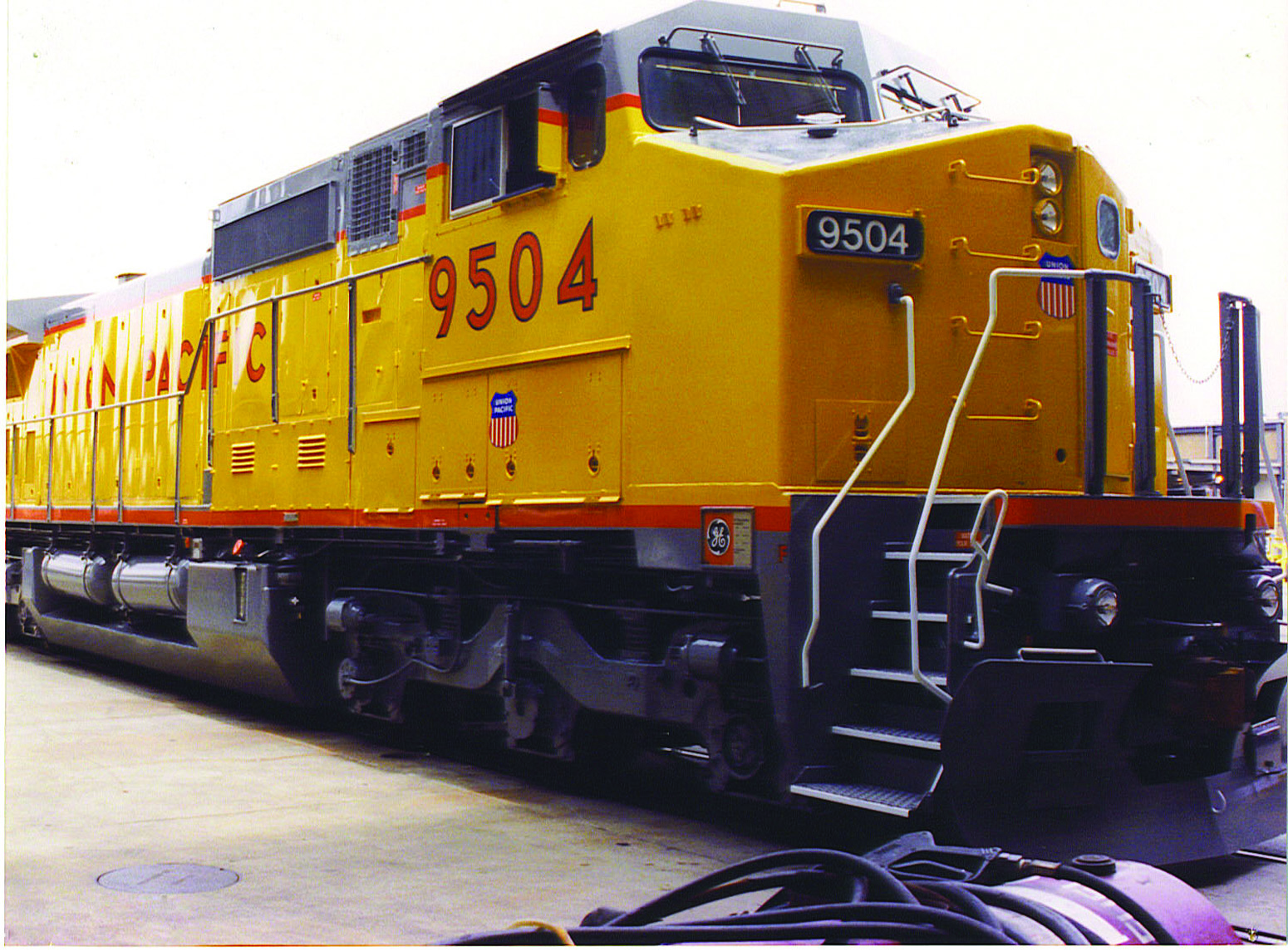 Union Pacific Railroad No. 9504
