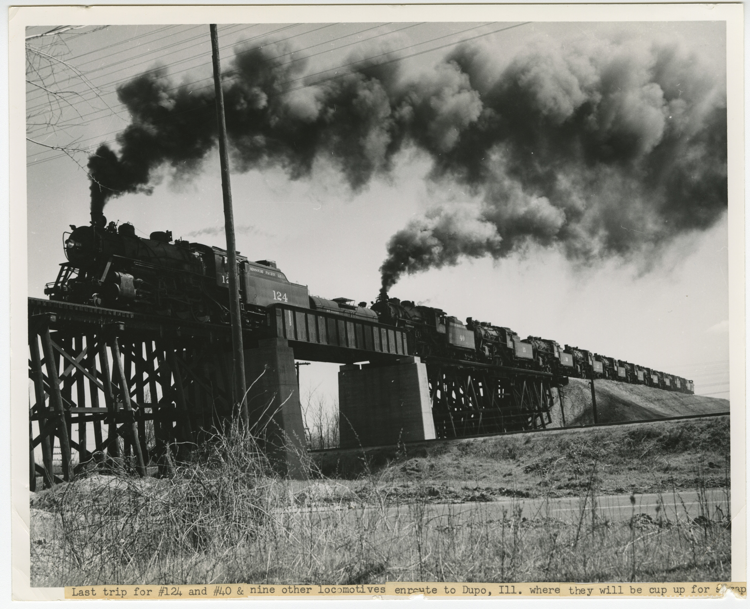 "Missouri Pacific ""Funeral Train"""