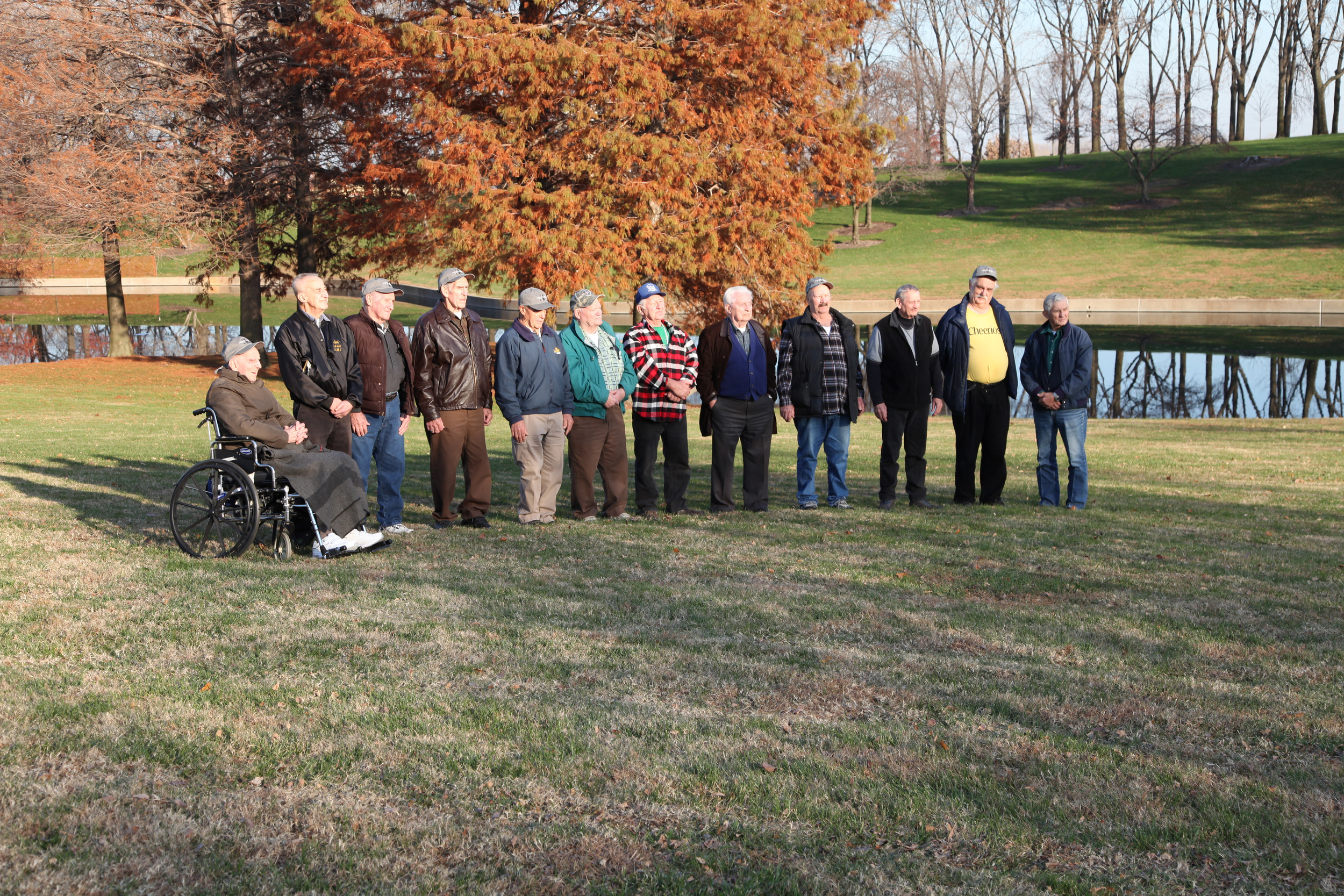 PDM Boilermaker Retirees Pose for a Photo
