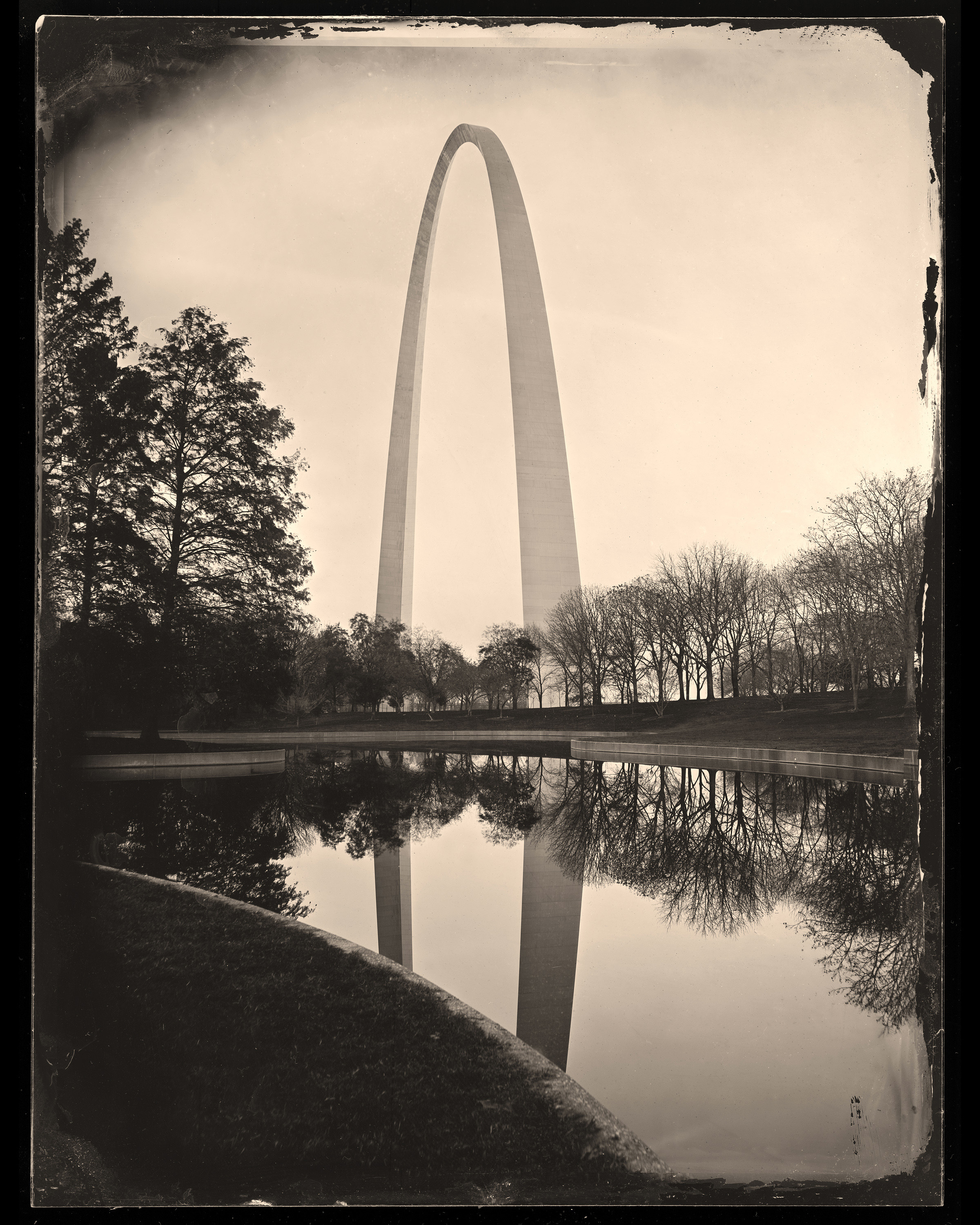 Gateway Arch Reflection