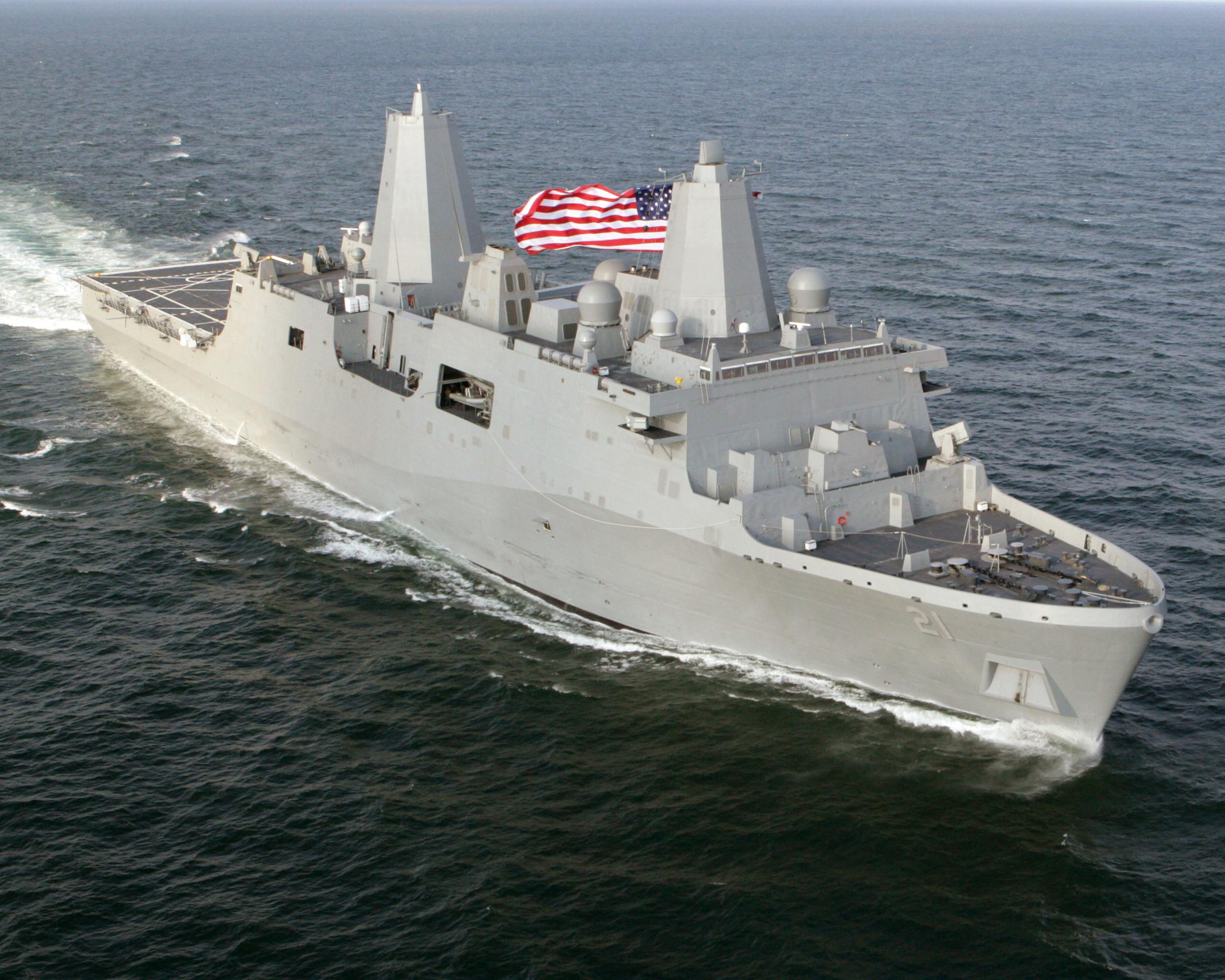 USS New York, LPD-21