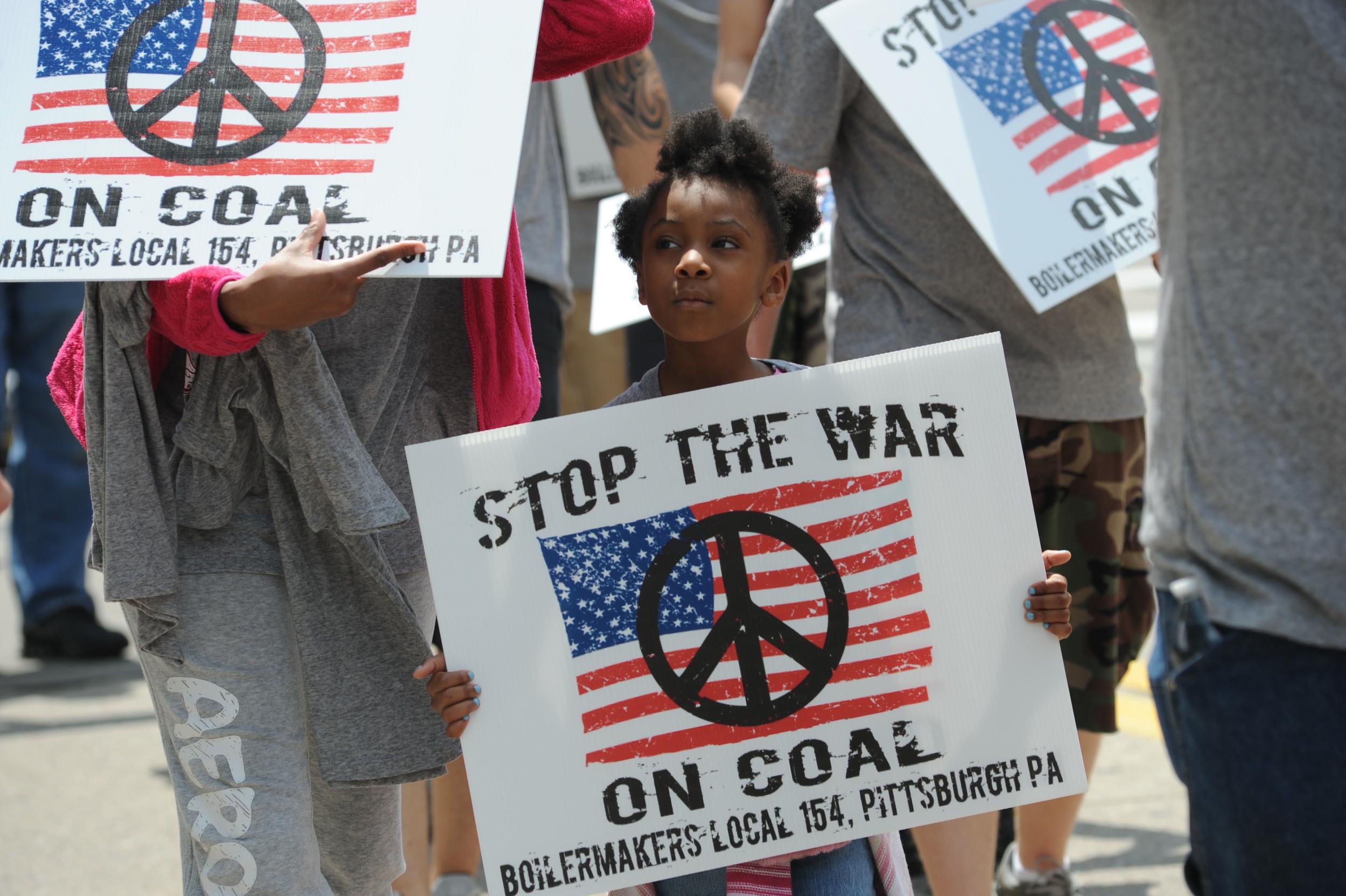 EPA Energy Regulations Rally in Pittsburgh, Pennsylvania
