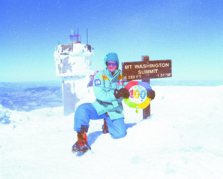 Local 29's Arsenault Climbs Mt. Washington 100 Times