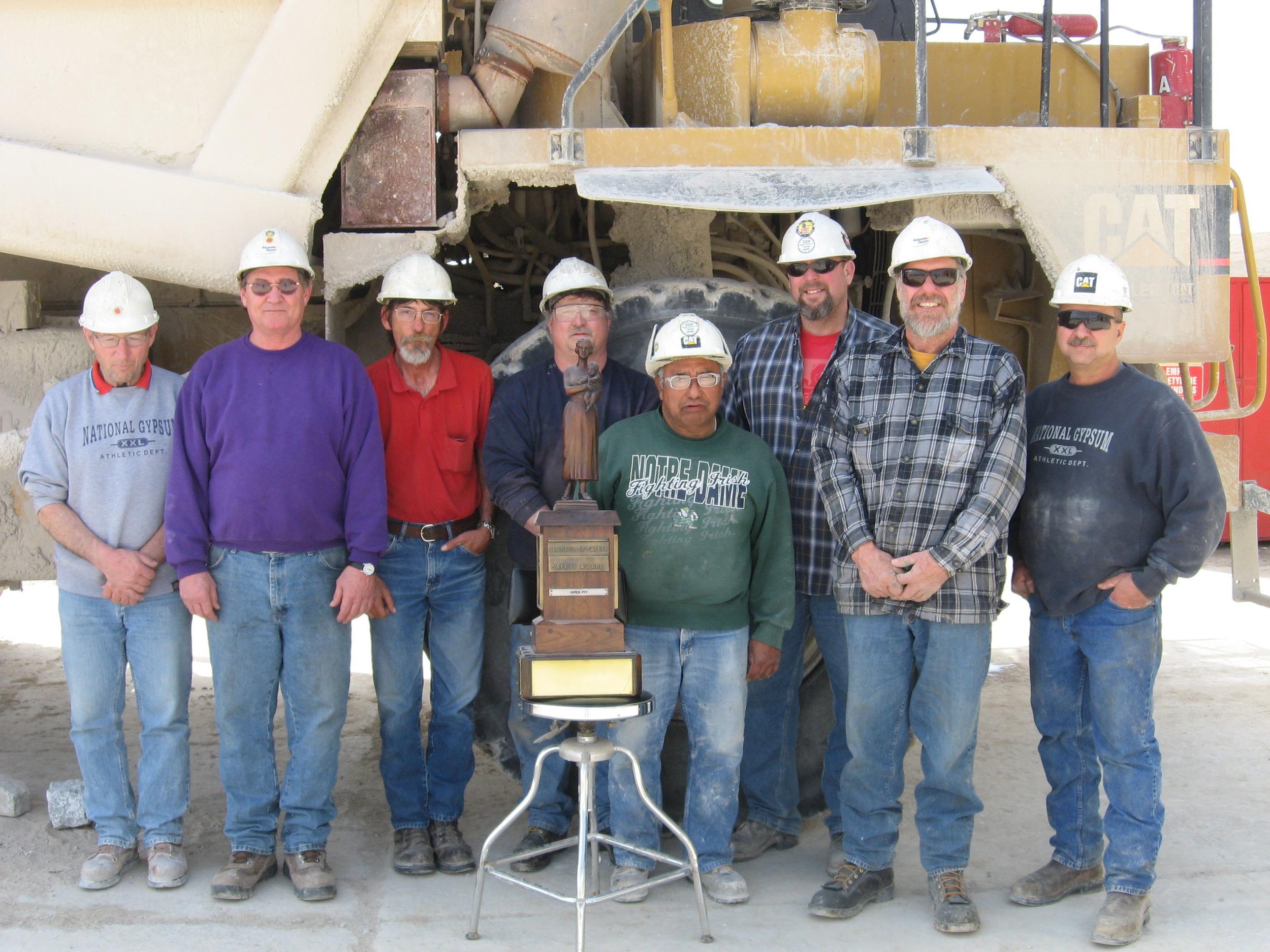 Lodge D66 Members Earn Top Mine Safety Award