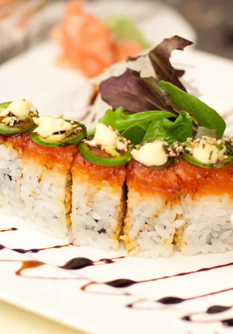 Custom Made Sushi