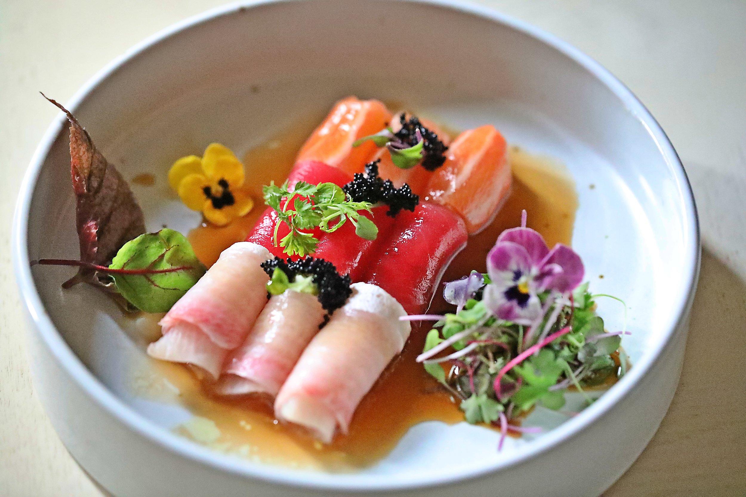 truffle sashimi2.JPG