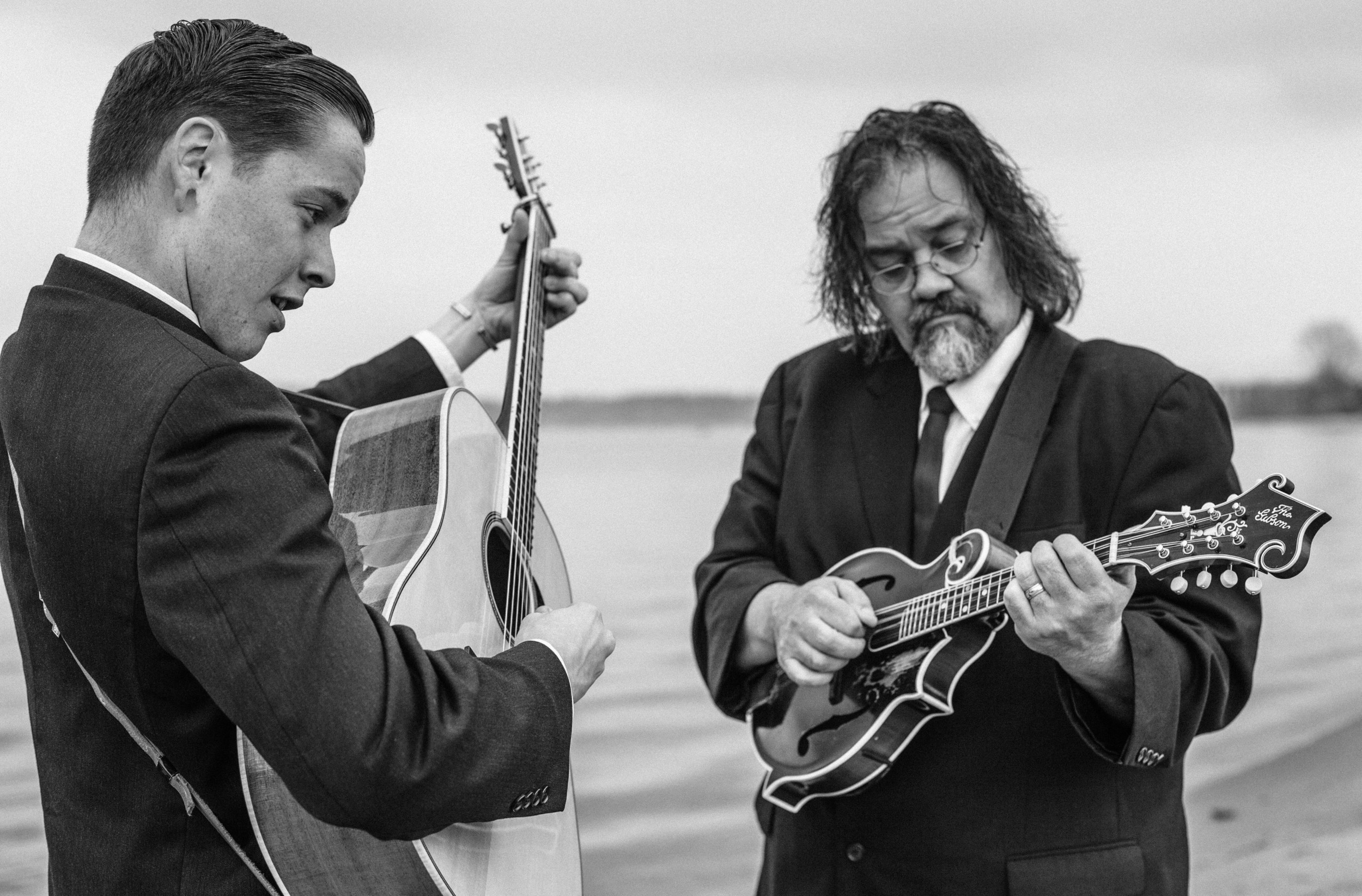 Billy Strings and don julin, photo by Tyler Franz