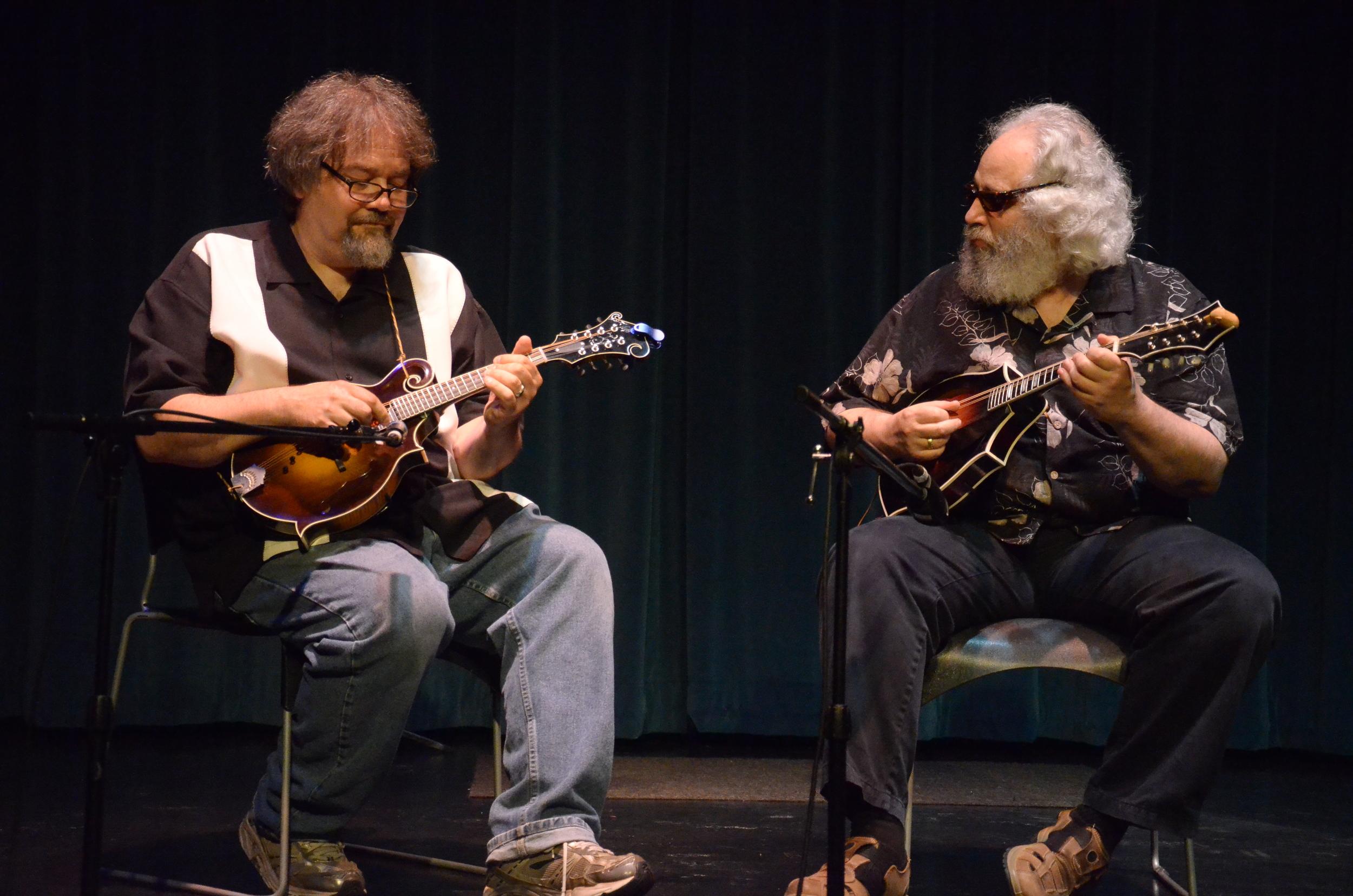 don Julin and david grisman, photo by Maria camillo