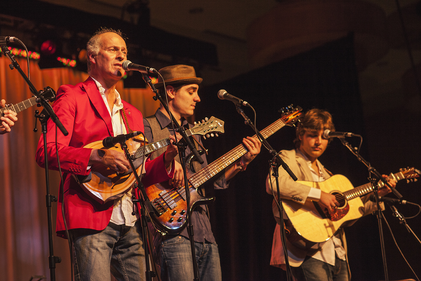 Red Wine, a bluegrass band from Italy