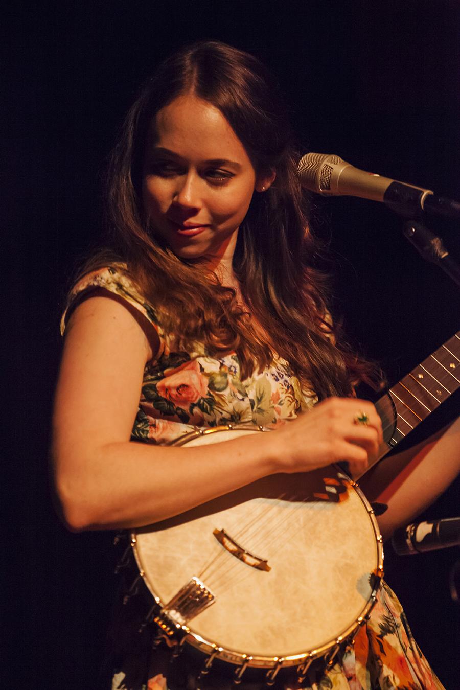 Sarah Jarosz at Mississippi Studios, Portland, Oregon, 2011. photo by Hermon joyner.