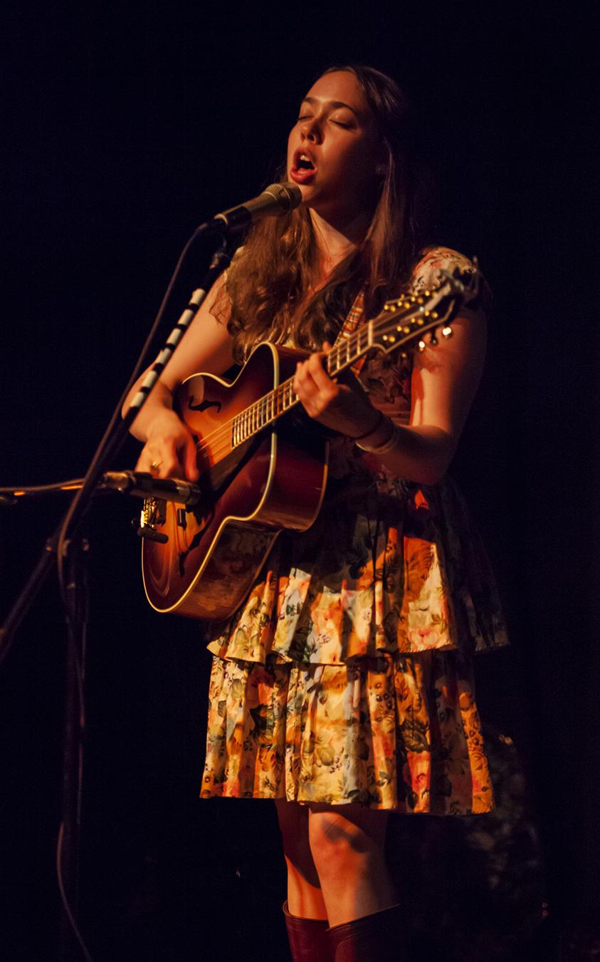 sarah jarosz at the mississippi studios, portland, oregon, 2011. photo by hermon joyner.