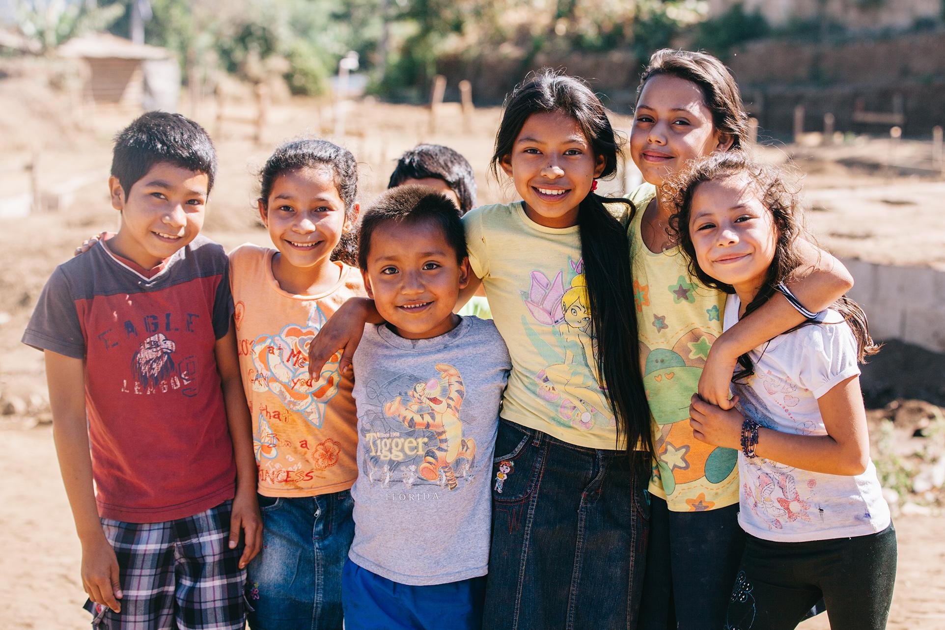 Some of the kiddos of Talnique, El Salvador